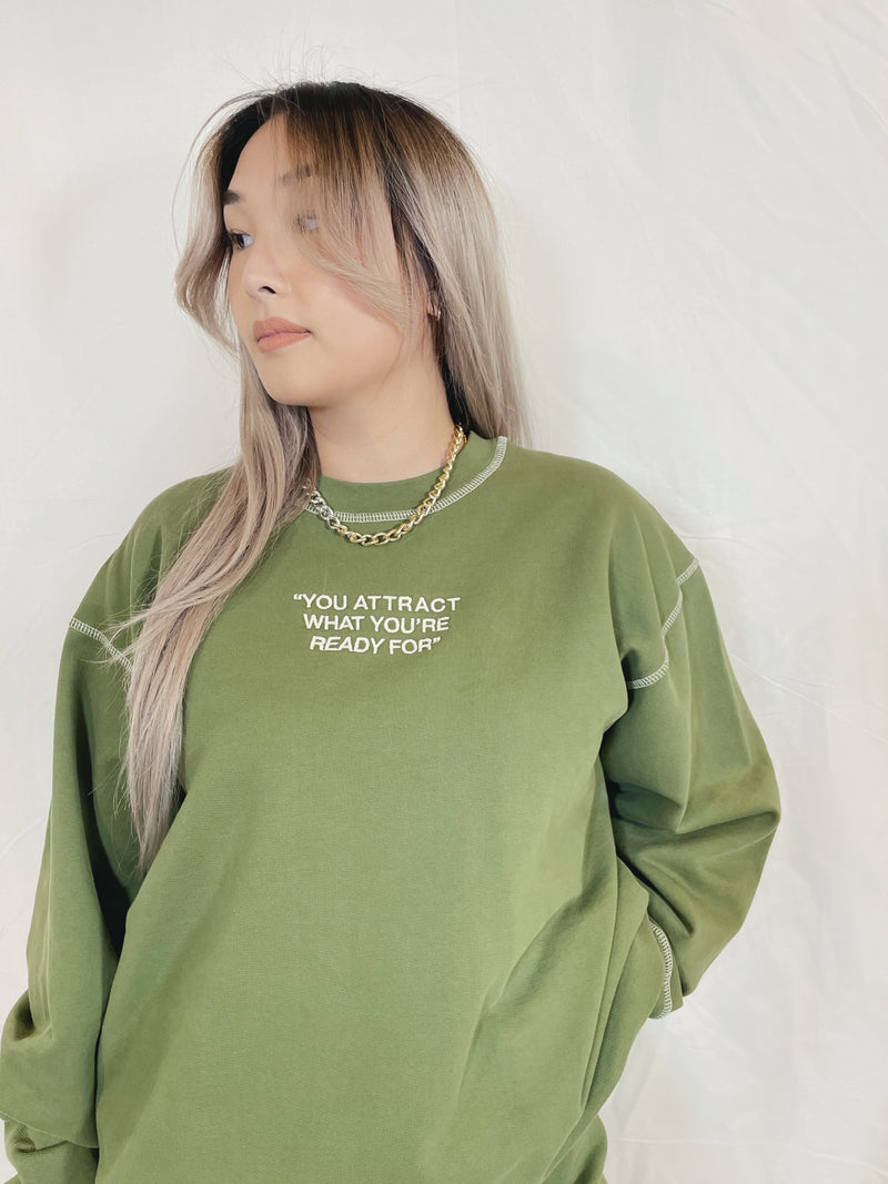Mayfair PSA Crewneck - Olive