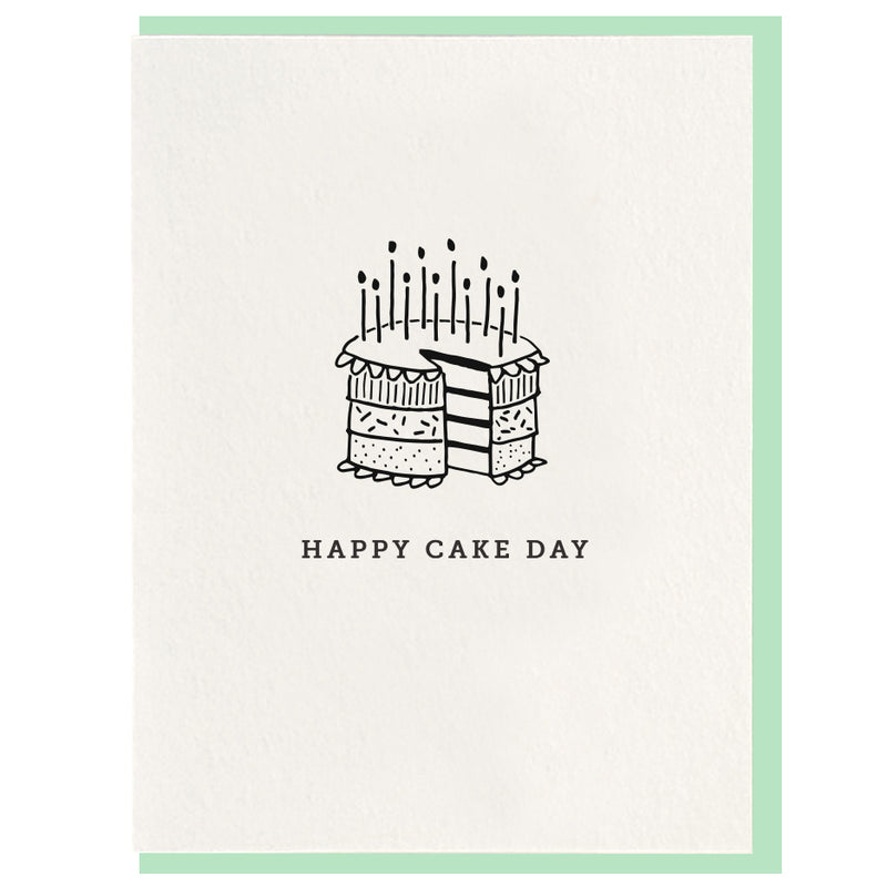 Happy Cake Day Card
