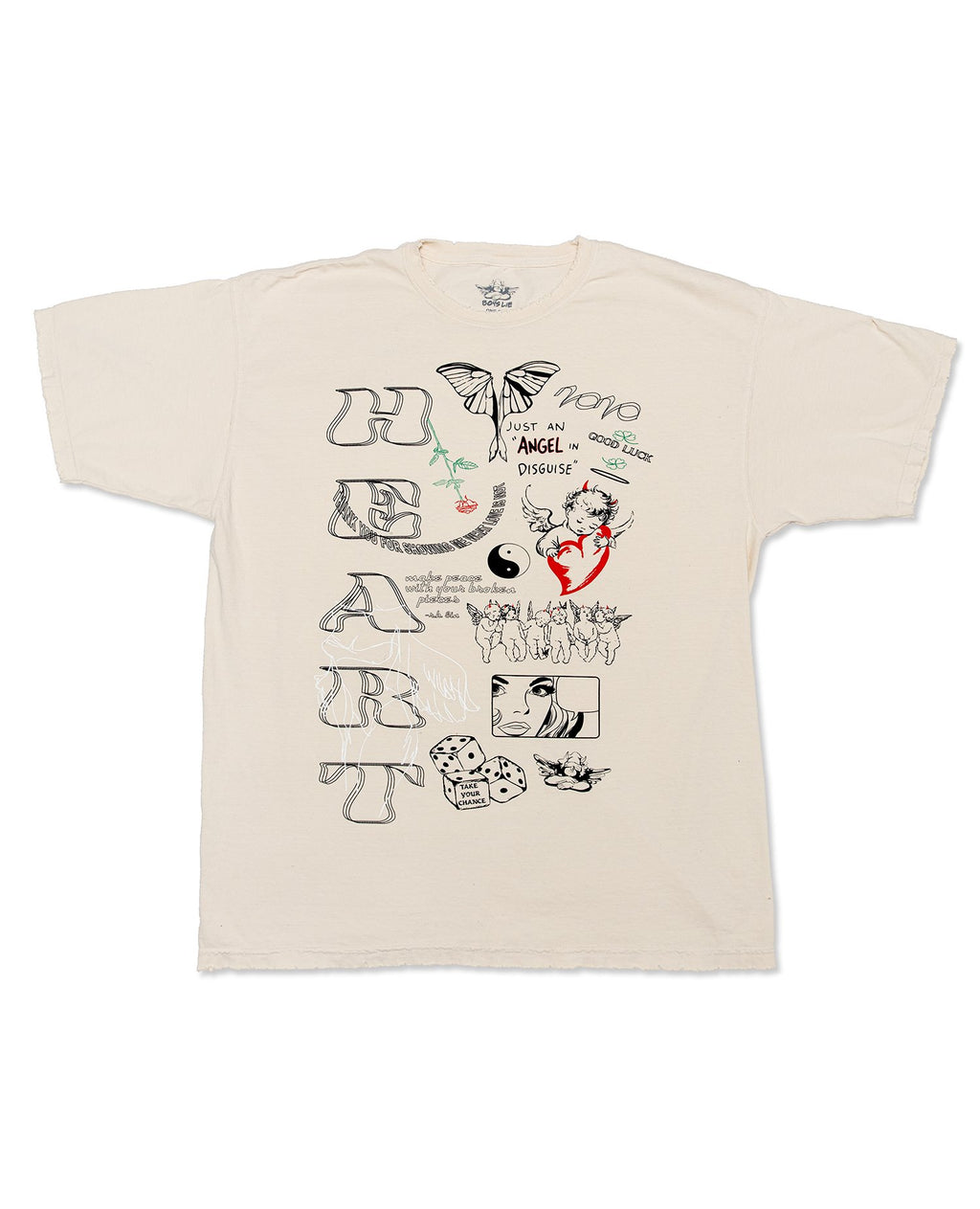 Boys Lie Word Vomit Tee