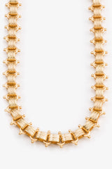 Joy Dravecky Jewelry Gold Statement Choker