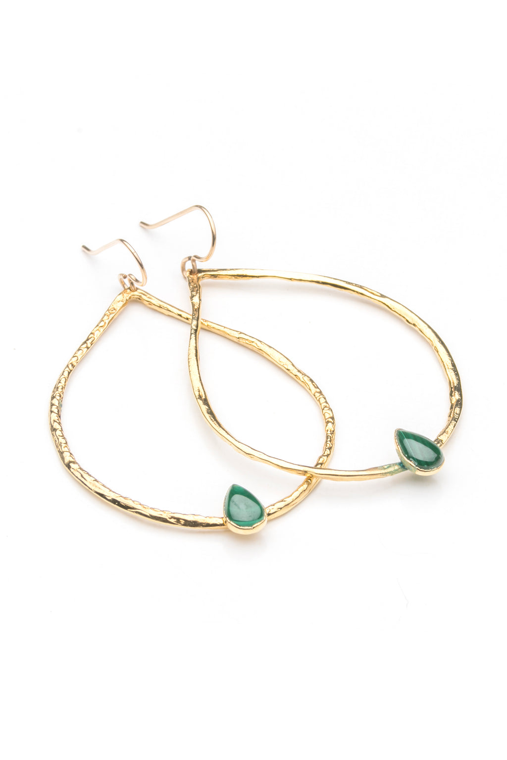 Perfect Hoops with Teardrop