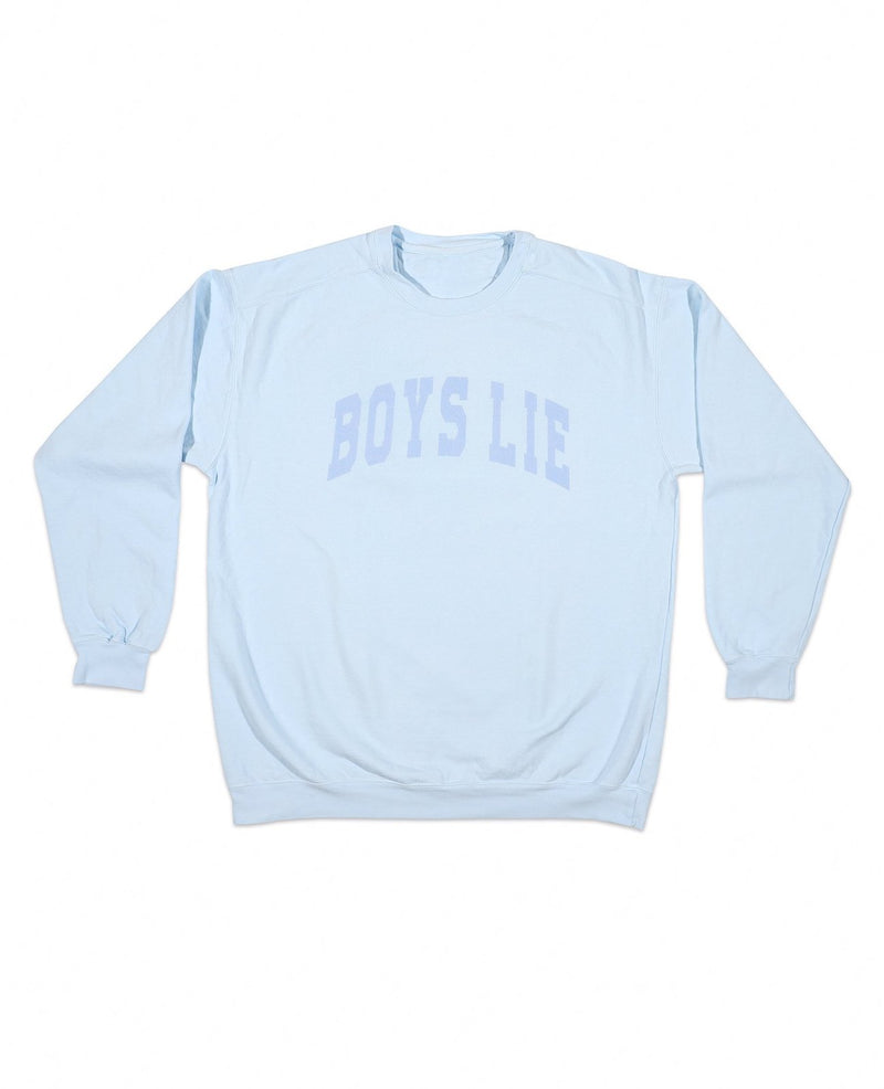 Boys Lie Catching Feelings Crewneck