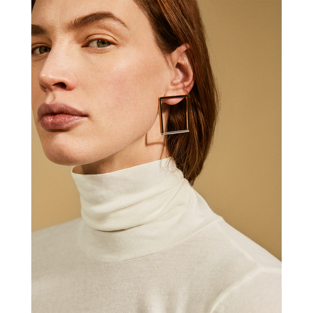 Jenny Bird Nora Earring Two Tone