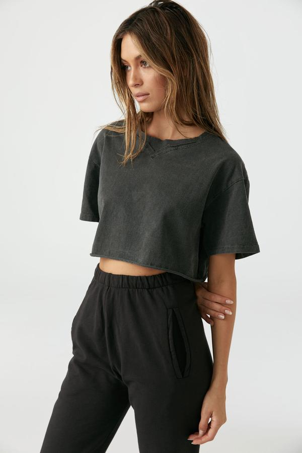 Joah Brown Cobain  Crop Tee