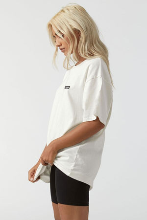Joah Brown - Oversized Crew Tee - Off White