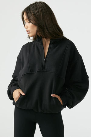 Joah Brown Retro Half Zip