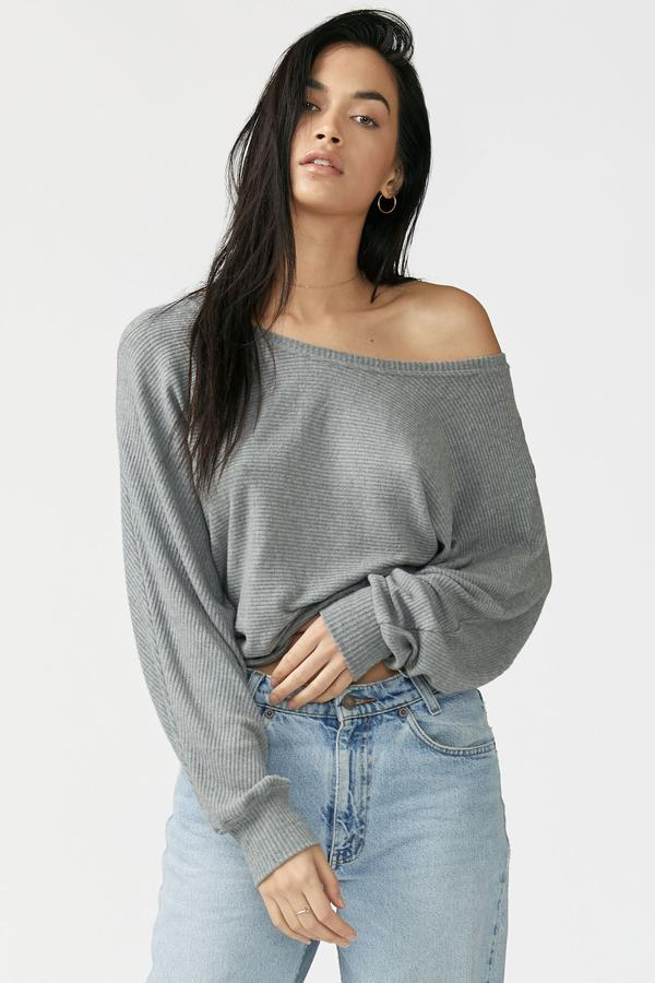 Joah Brown Slouchy Dolman Long Sleeve