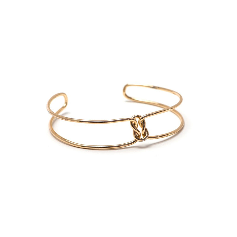 Knot Today Bangle - Gold