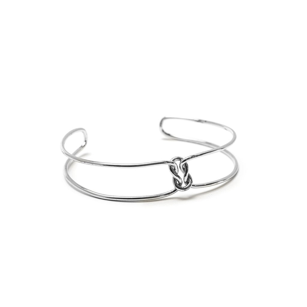 Knot Today Bangle - Silver