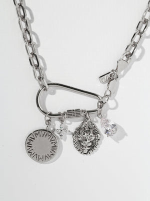 The Royals Necklace - Silver