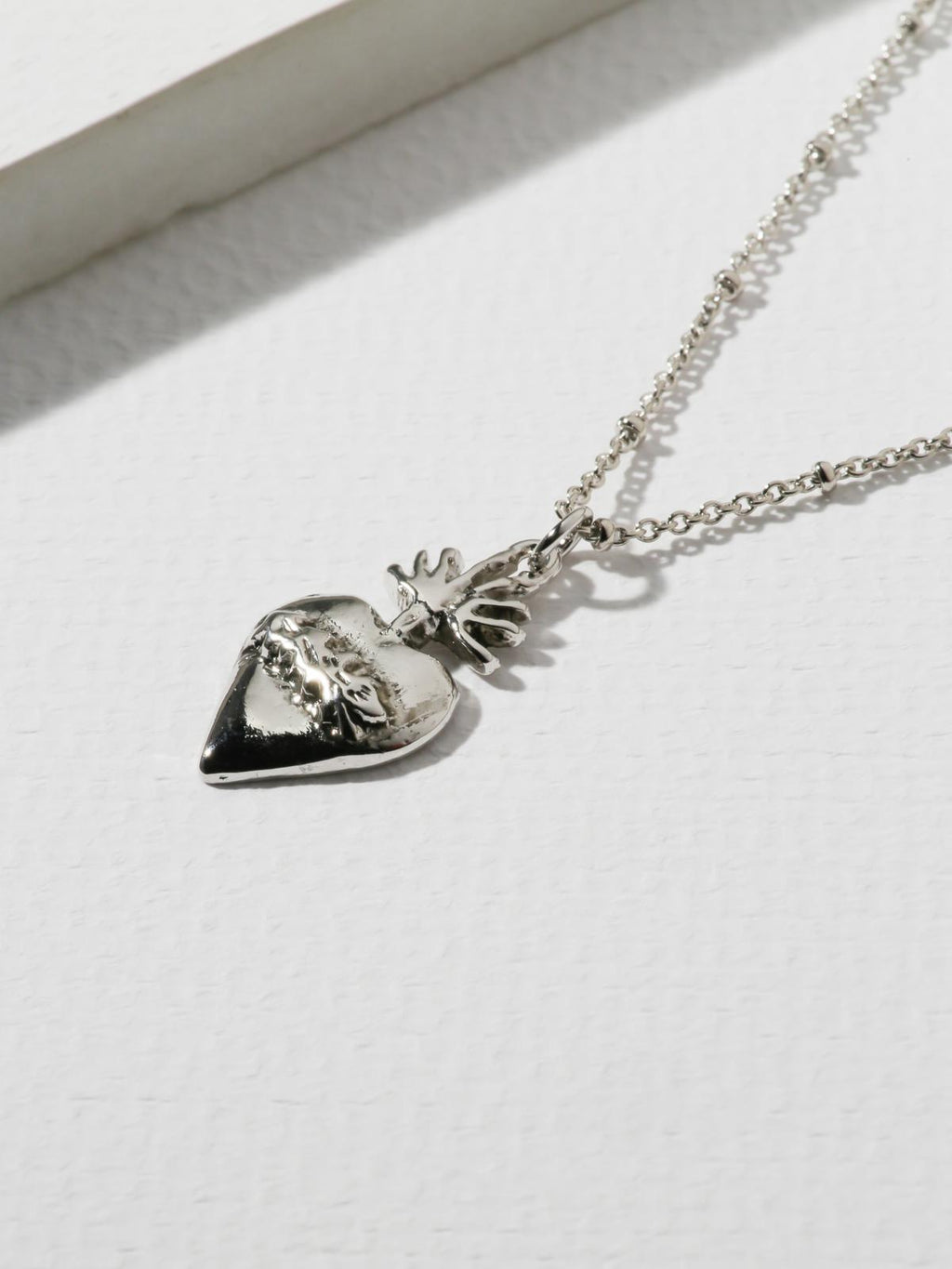 The Flame Sacred Heart Necklace