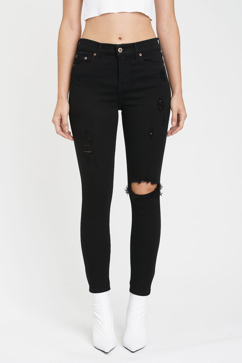Aline Skinny Jean Black Magic
