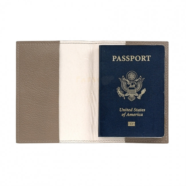 Passport Holder - Taupe
