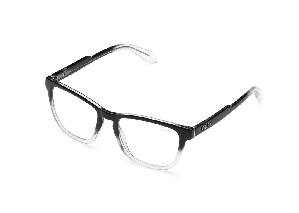 Quay - Hardwire - Black/Clear