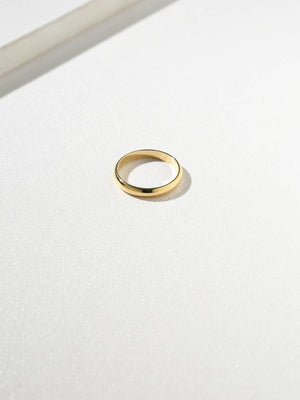 The Gold Band Ring