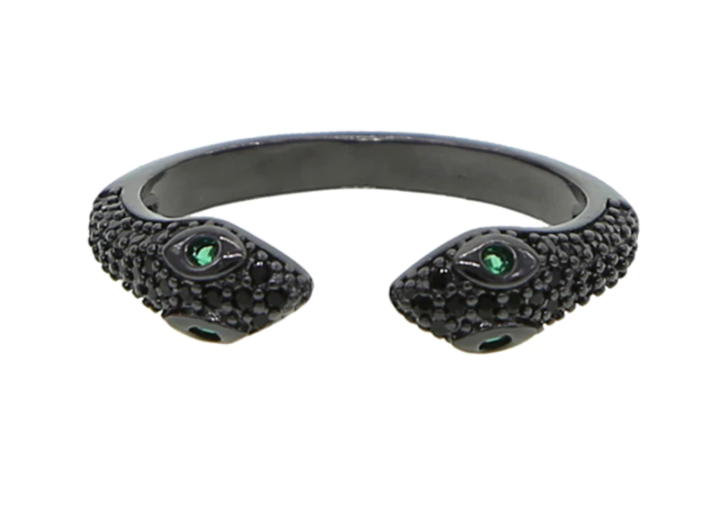 Stranger To Me Ring - Black