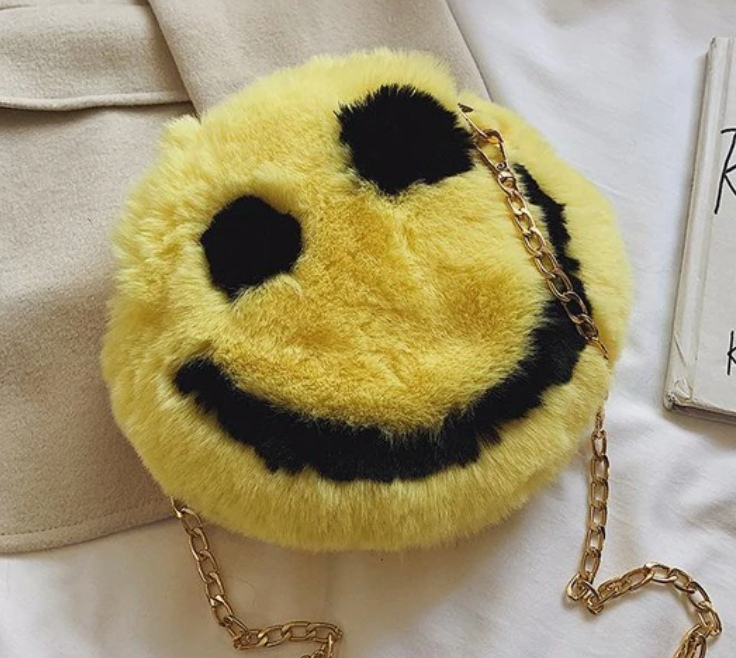 All Smiles Round Bag