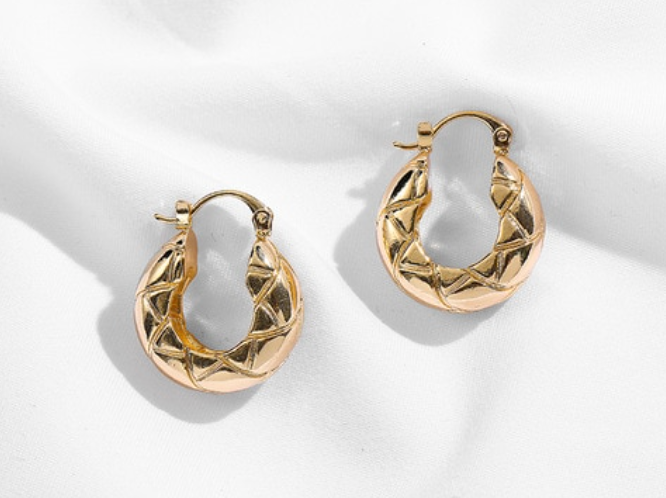 Tessa Hoop Earrings