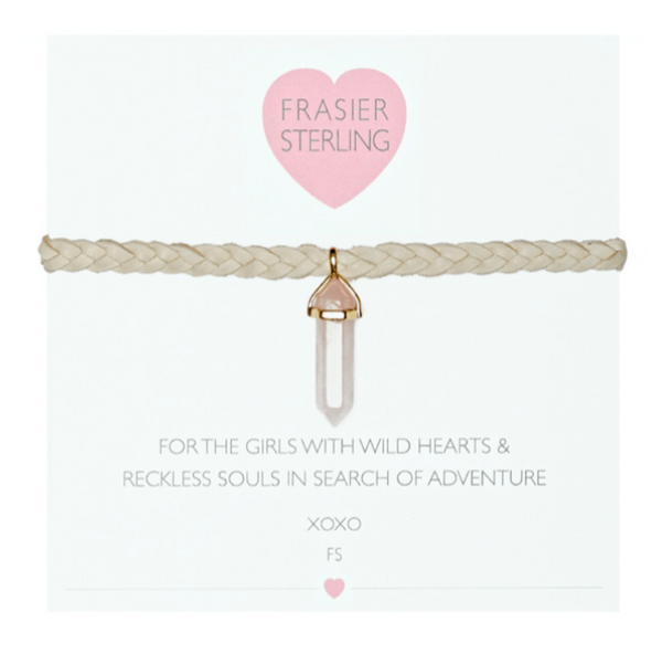 Frasier Sterling Mystic Crystal Choker - Rose Quartz