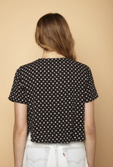Clover Lace Up Top - BIRD BEE - 4