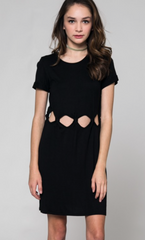 Stella Cutout Dress - BIRD BEE - 1