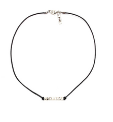 Vanessa Mooney - The Madison Choker Silver - BIRD BEE