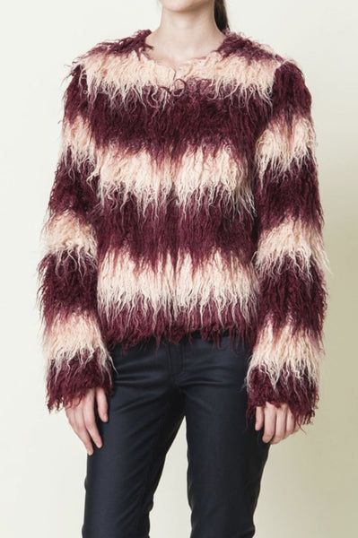 Night Vision Faux Fur Jacket