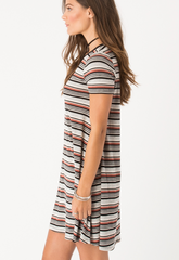 Pacific Tee Dress - BIRD BEE - 3