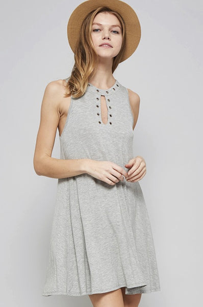 Eliza Dress - Grey