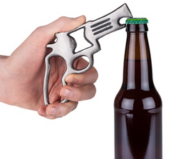 Pistol Cast Iron Bottle Opener