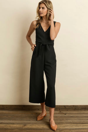 Cut Out Wrap Jumpsuit