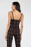 Plaid Bustier