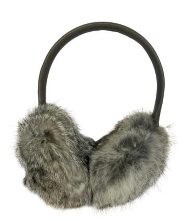 Luxe Leather Earmuff