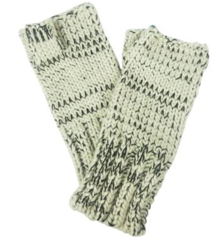 Multi Tweed Armwarmers