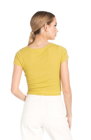 Georgia Top - Yellow