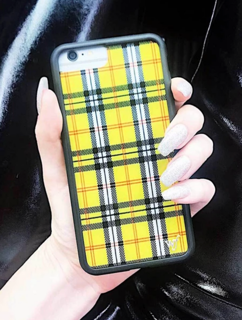 Yellow Plaid Case