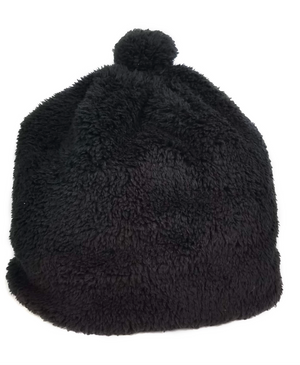Teddy Pom Hat - Black