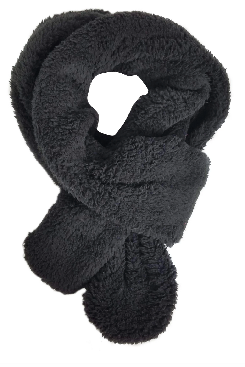 Teddy Scarf - Black