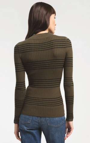Linden Striped Sweater
