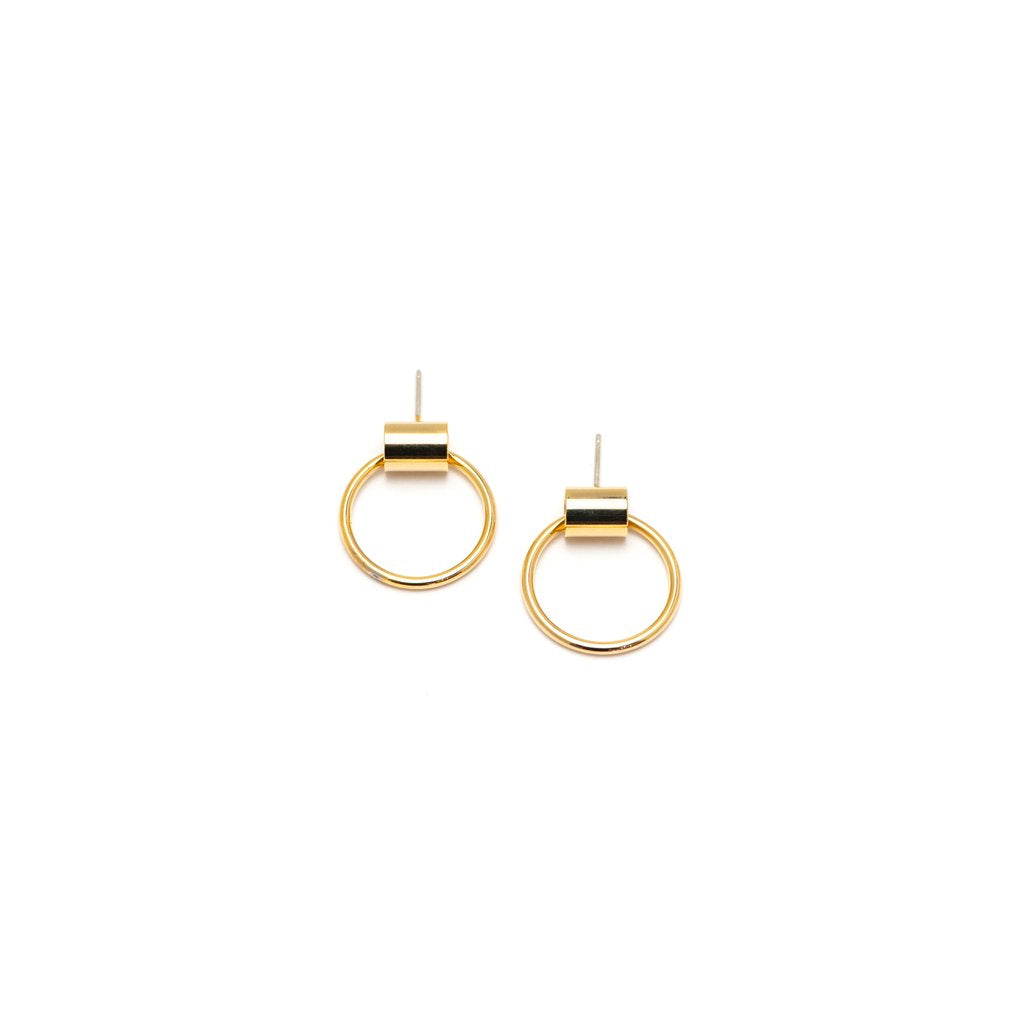 Swing Hoops - Gold