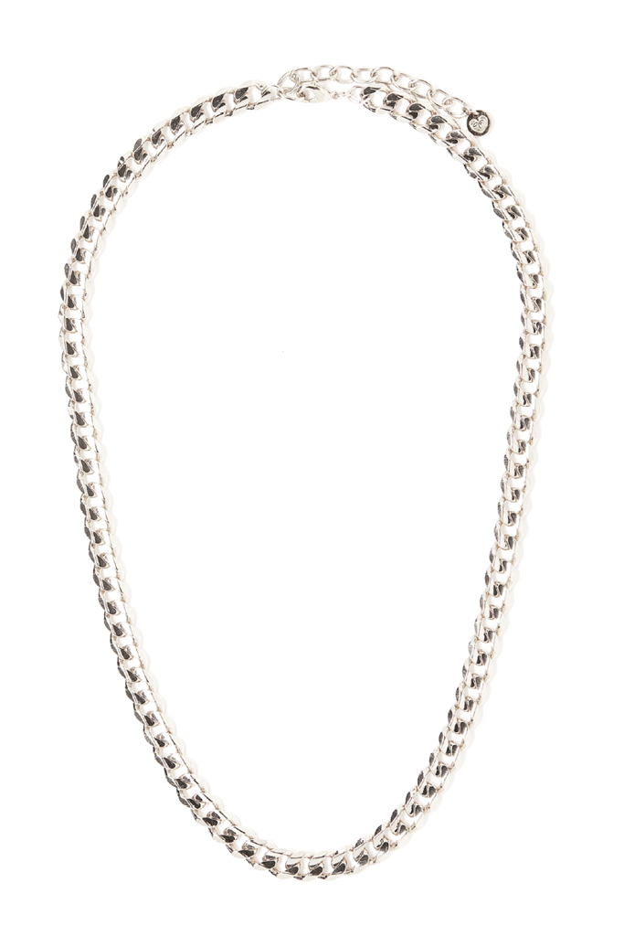 Quinn Single Necklace - Silver