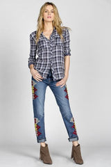MMV Jane Boyfriend Jeans - BIRD BEE - 1