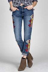 MMV Jane Boyfriend Jeans - BIRD BEE - 2