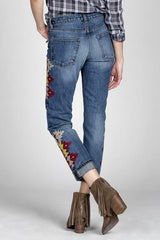 MMV Jane Boyfriend Jeans - BIRD BEE - 3