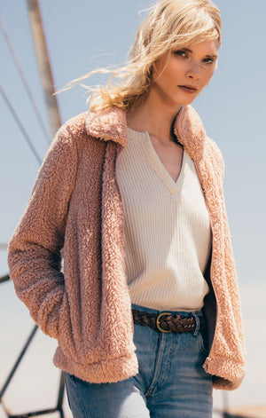The Sherpa Crop Jacket