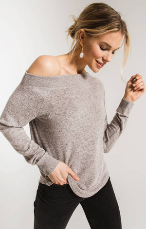 The Marld Sweater Knit One Shoulder