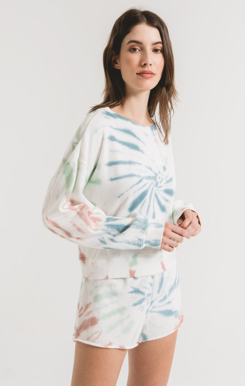 The Multi Color Tie-Dye Pullover