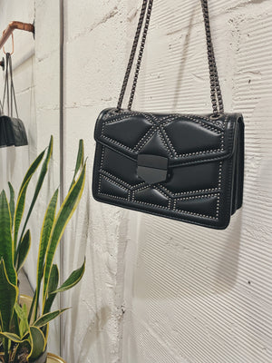 Monaco Rivet Chain Bag