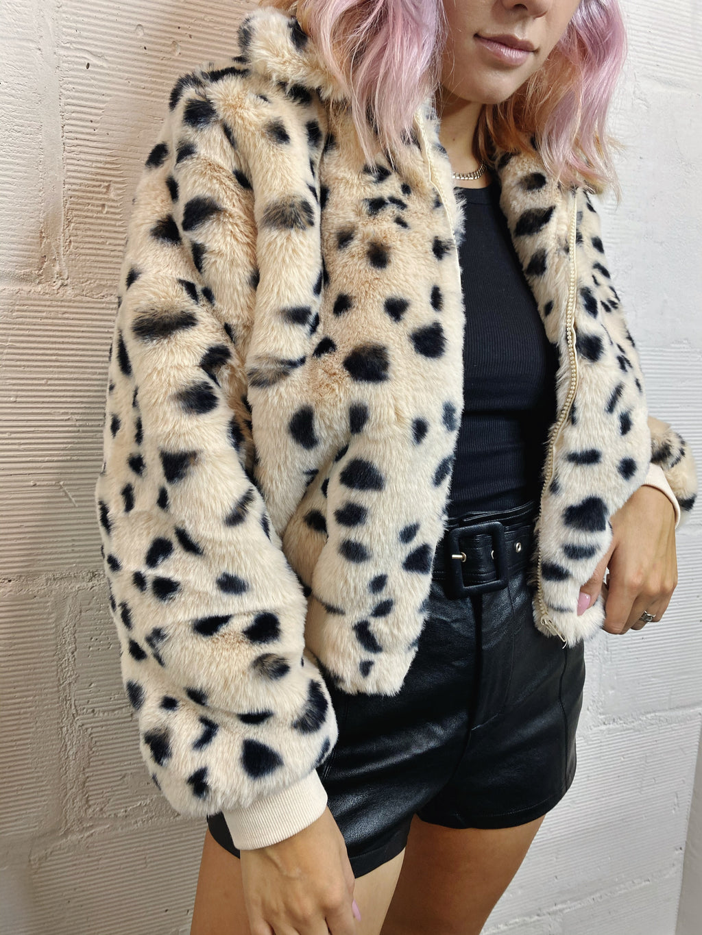 Hailey Faux Fur Jacket