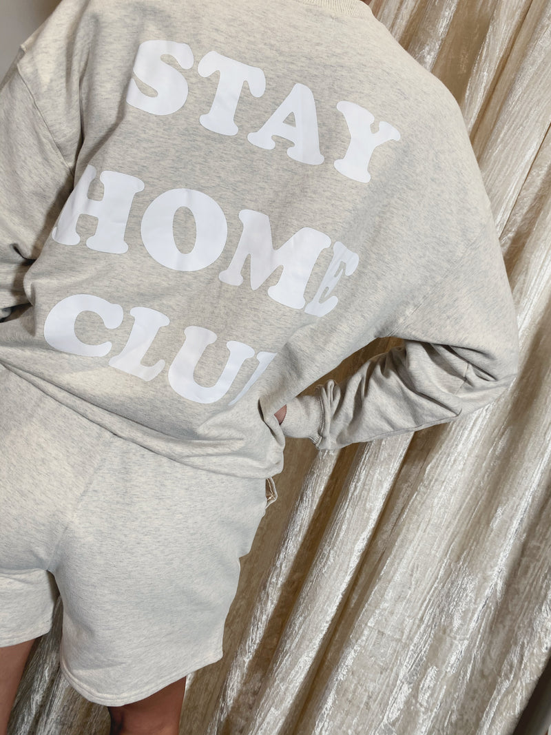 Stay Home Club Crewneck